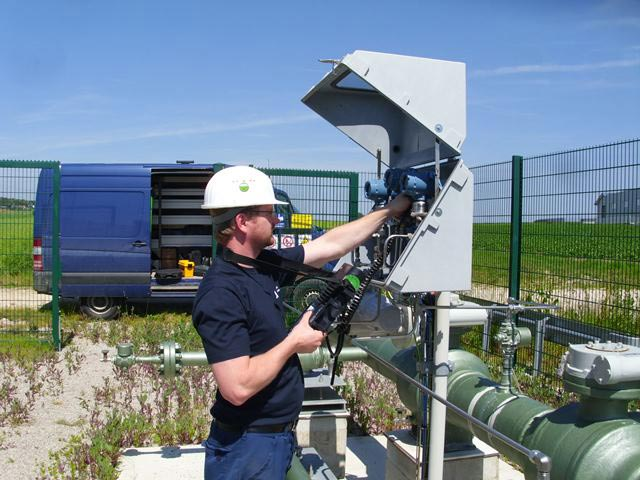 Die technischen Einrichtungen der EPS - hier an einer der 24 Absperrstationen - werden regelmäßig gewartet.