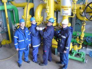 In Münchsmünster wurde die Verbindung zwischen der EPS und der bestehenden Pipeline ins Bayerische Chemiedreieck hergestellt.