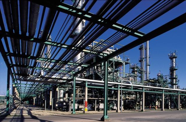 Ethylen-Anlage von OMV in Burghausen